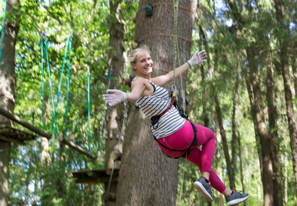 Buhl Activity Park - Kletterwald Forest4Fun